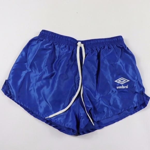 71cbb80d84 Umbro Shorts | Vintage 80s New Soccer Blue Size 34 | Poshmark